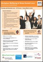 Workplace Wellbeing & Stress Summit 2012
