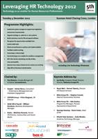 Leveraging HR Technology Forum 2012