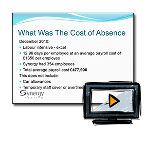 Using technology to help reduce absence and make cost savings
