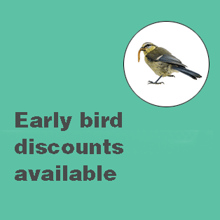 Be quick! All the 'Early Bird' discounts for our Autumn/Winter schedule expire soon
