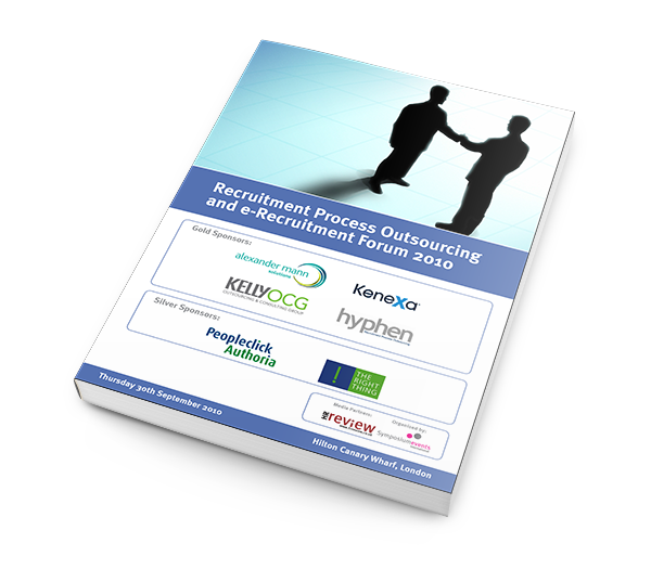 RPO and e-Recruitment Summit 2010 - Documentation