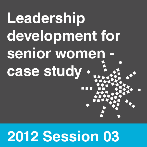 Talent Management & Leadership Development Summit 2012 - Session 03