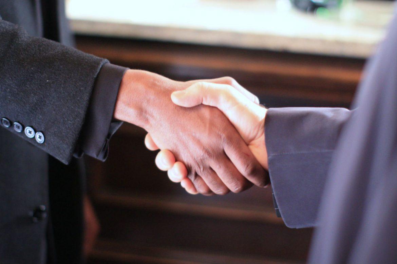 Delegate meets sponsor