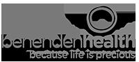 Benenden logo grey